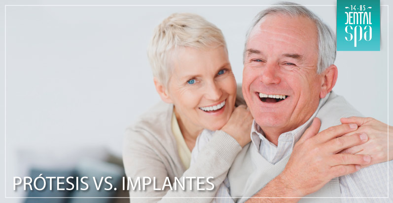protesis vs implantes dentales