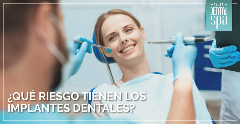 ¿Qué riesgo tienen los implantes dentales?