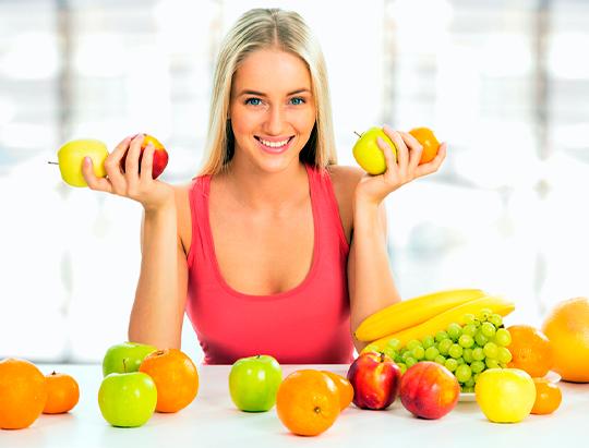 Frutas para blanquear los dientes